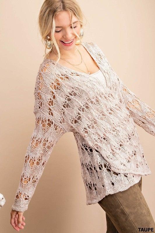 Here & Now Crochet Top