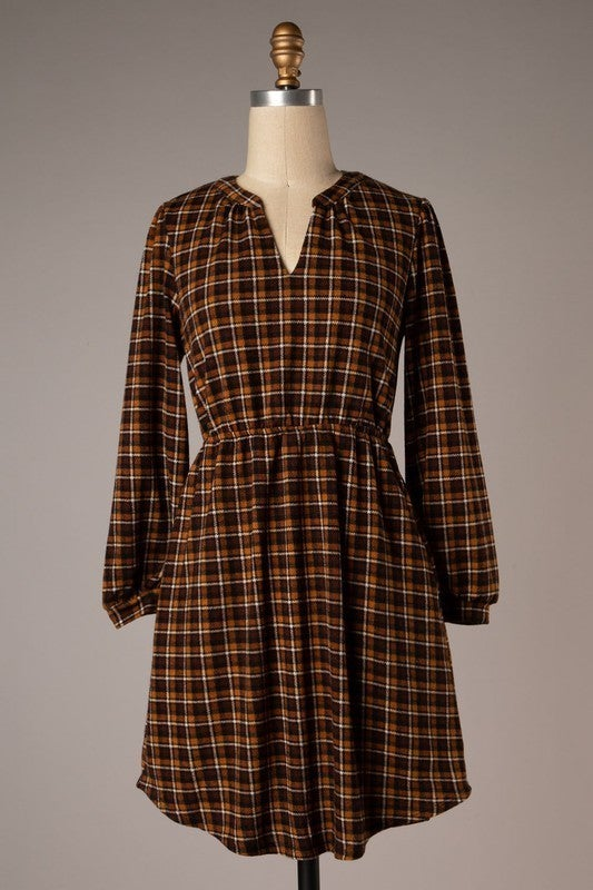 Plaid About You Dress