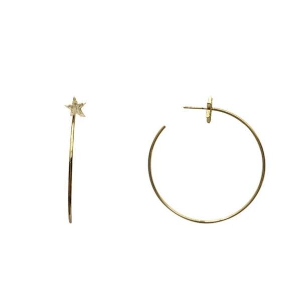 Love, Poppy Thea Star Earrings