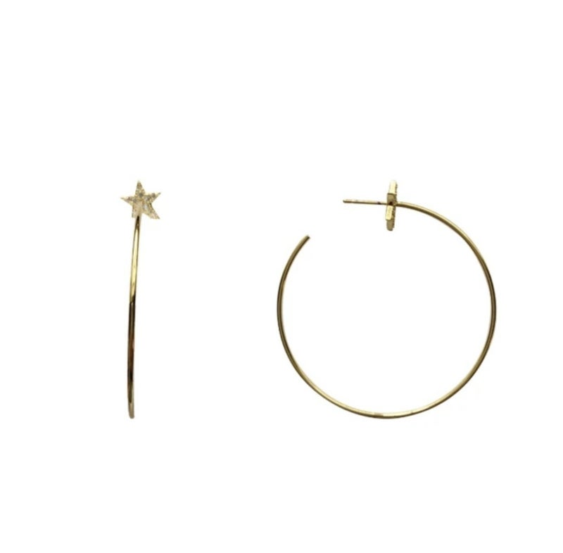 Love, Poppy Thea Star Earrings