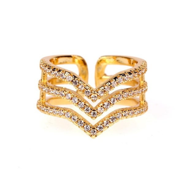 Express Yourself Ring - Gold