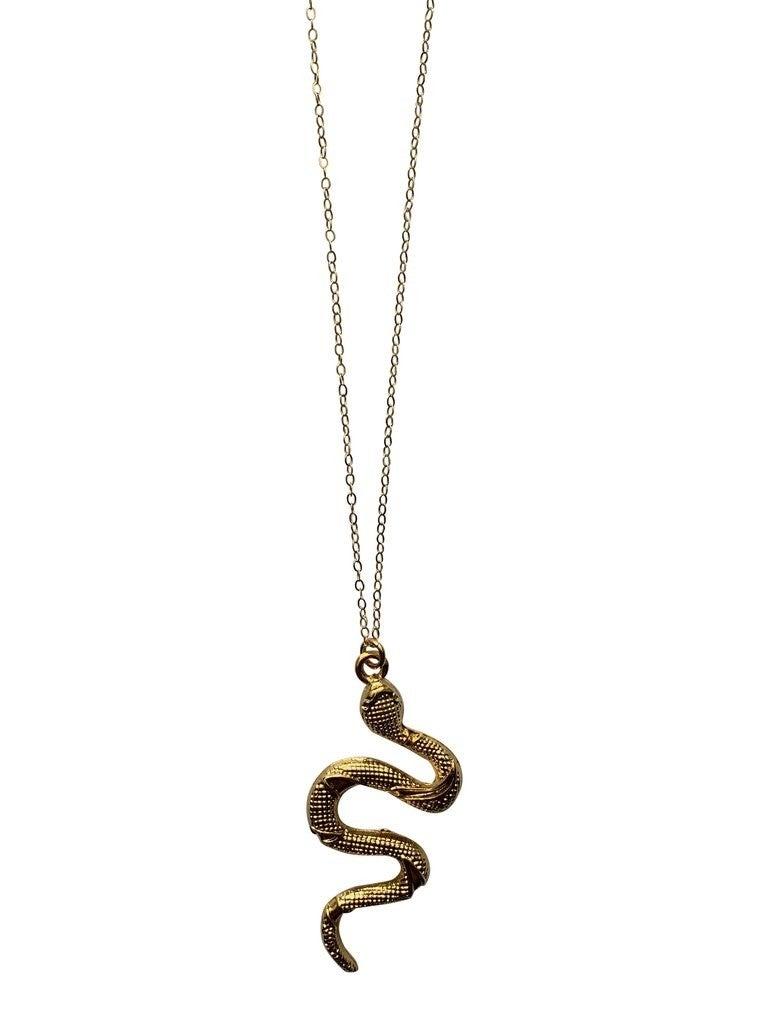 Love, Poppy Snake Necklace