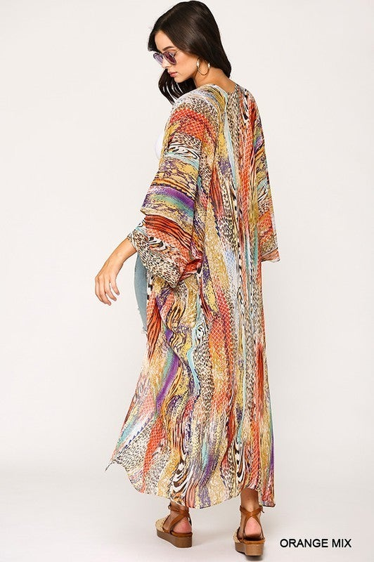 Watercolor Dreams Kimono