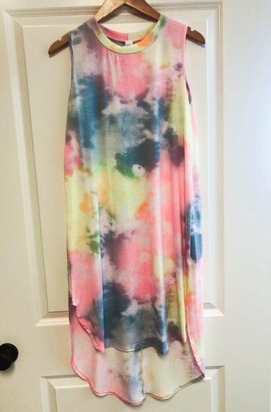 Hippie Chick Tie Dye Dress