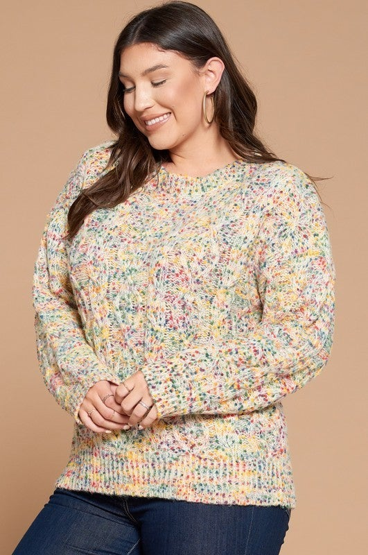 Reg/Plus Fabulous Funfetti Sweater
