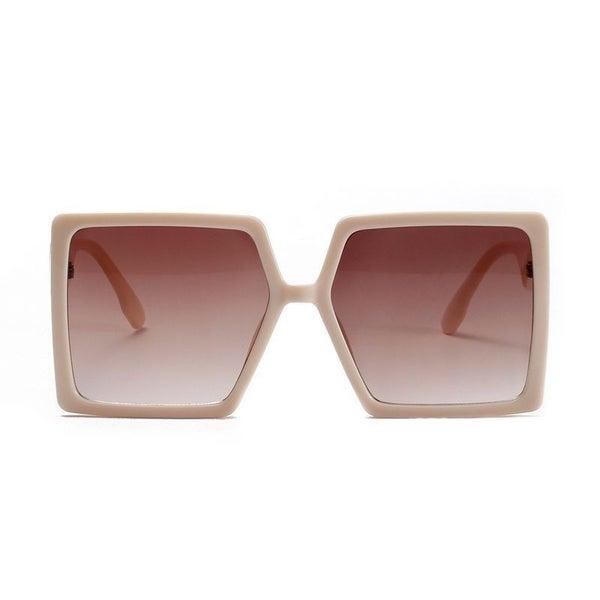Squared Up Sunglasses - Creamy White