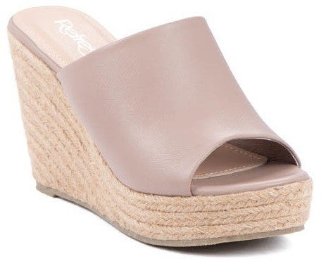 Treat You Right Espadrilles - Taupe (Go up a half size)