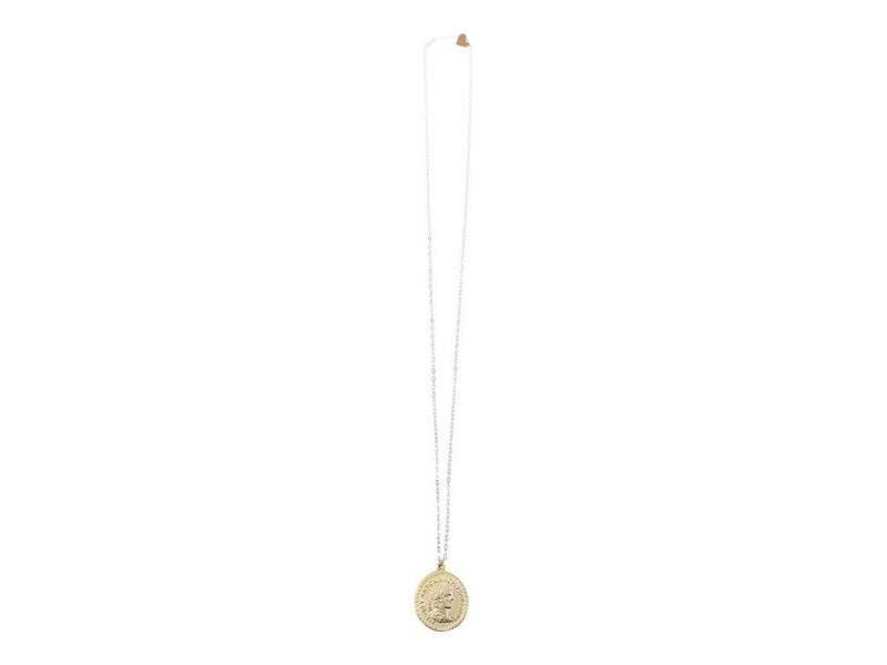Love, Poppy Long Coin Necklace