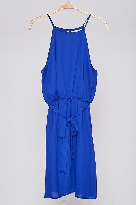 Make The Call Dress - Blue