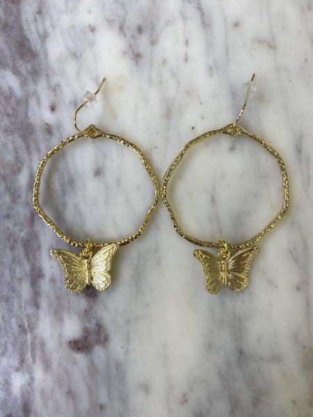 Jennifer Thames - Butterfly Hoops