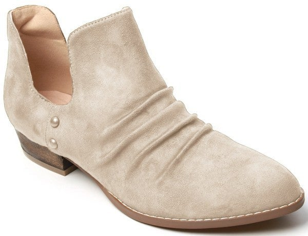 Walk This Way Ankle Boots - Ice