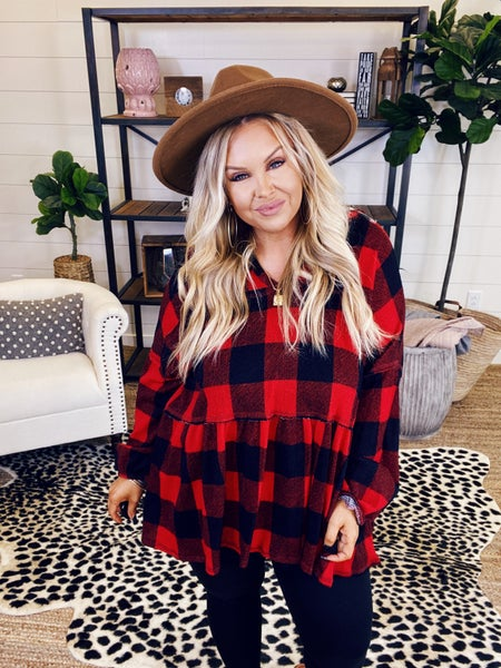 Perfectly Plaid Top