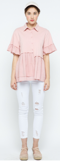 Sweet Summertime Top - Pink