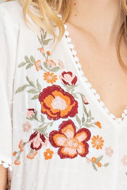 Bountiful Boho Chic Floral Dress