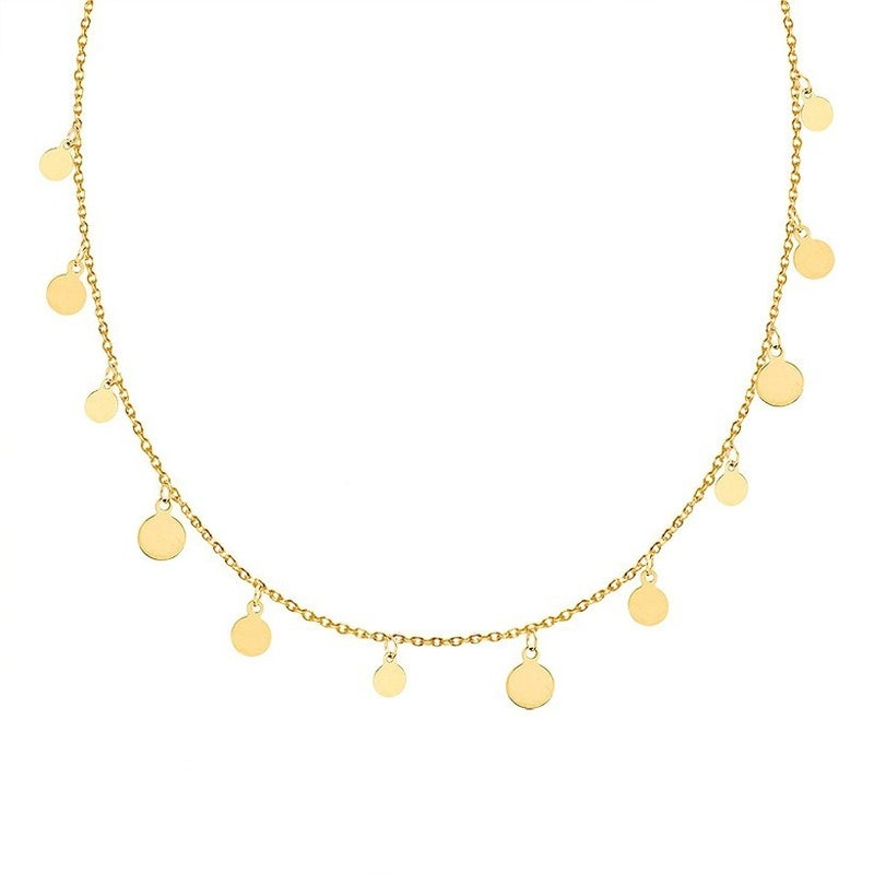 My Treasure Necklace - Gold