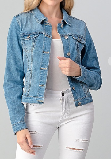 Simple and Classic Denim Jacket