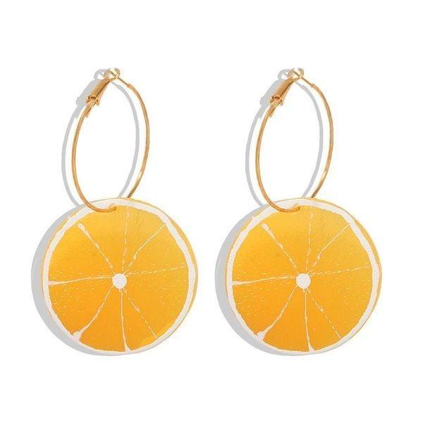 Fresh Squeeze Earrings - Lemon