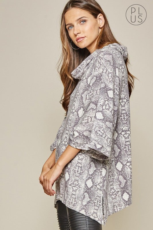 Slither on Me Tunic