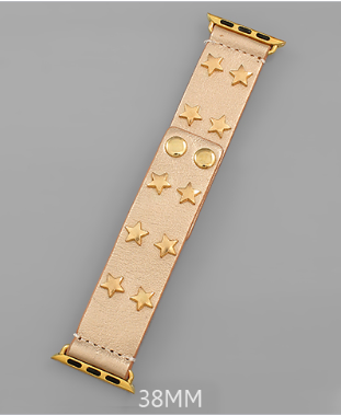 Star Struck SmartWatch Band - Gold