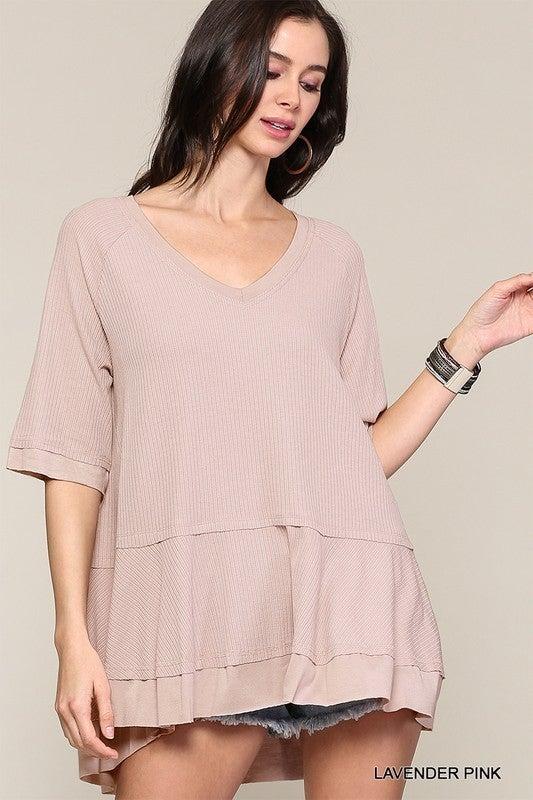 Beyond The Basics Top - Lavender Pink