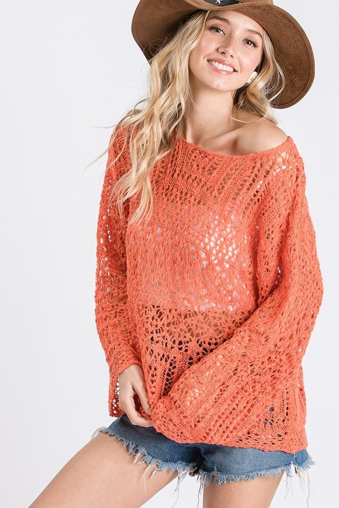 Dibs On You Sweater - Red