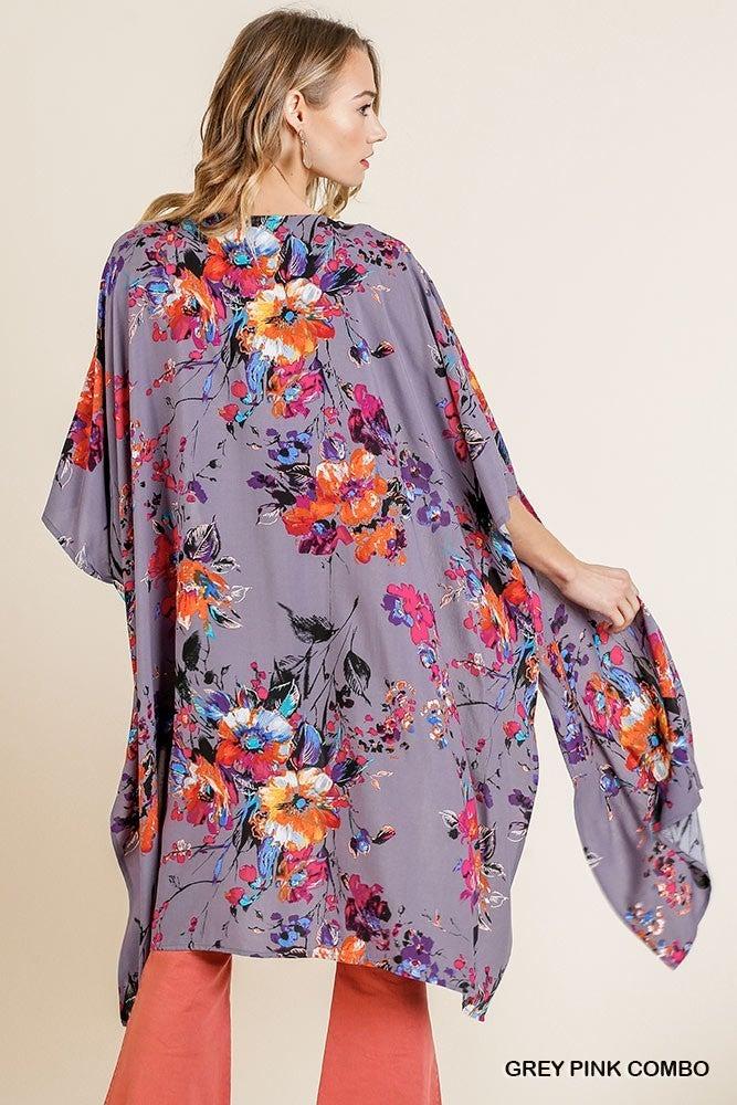Ravishing Floral Kimono