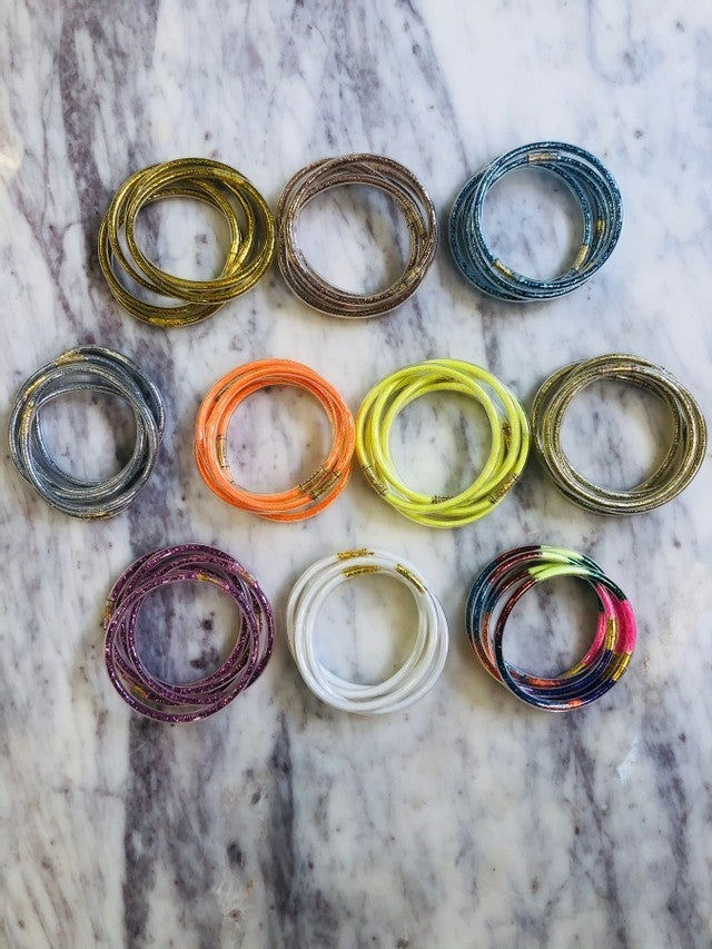 All Weather Bangles (Set of 5)