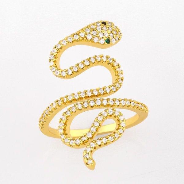 Slitherin' Snake Ring