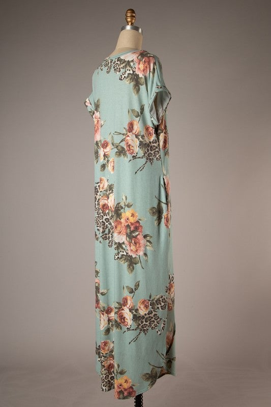 Wild About Floral Dress