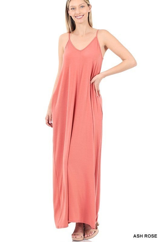Dream Big Maxi Dress - Ash Rose