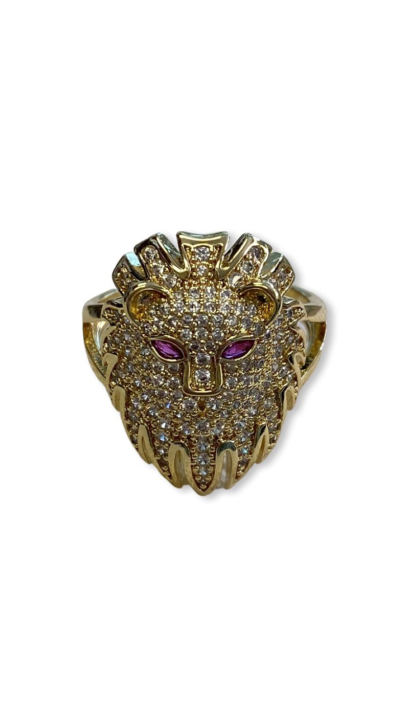 Jennifer Thames Lion Ring
