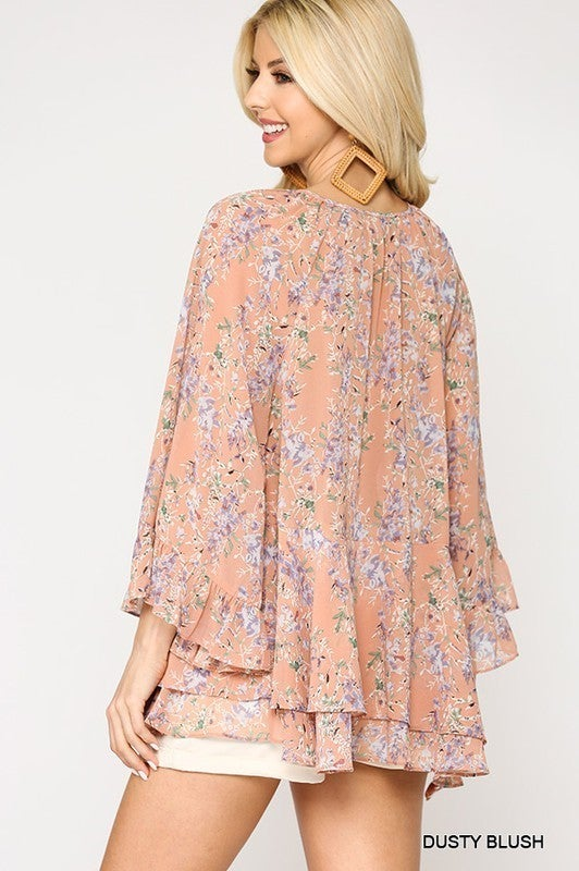 Just A Thought Top - Blush