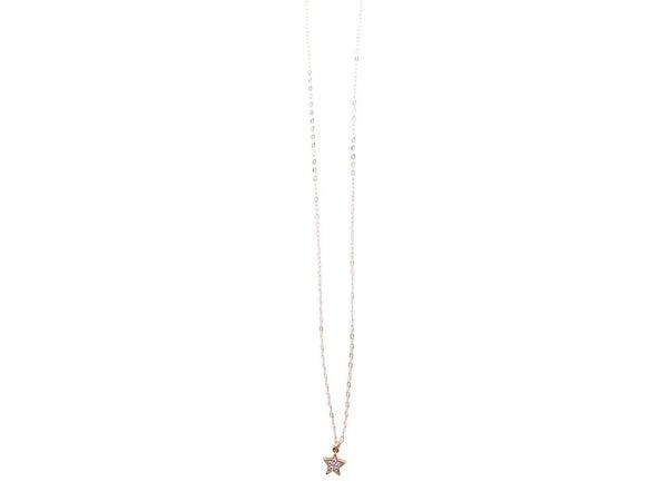 Love, Poppy Mini Star Necklace