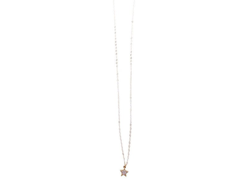 Love, Poppy Mini Star Necklace