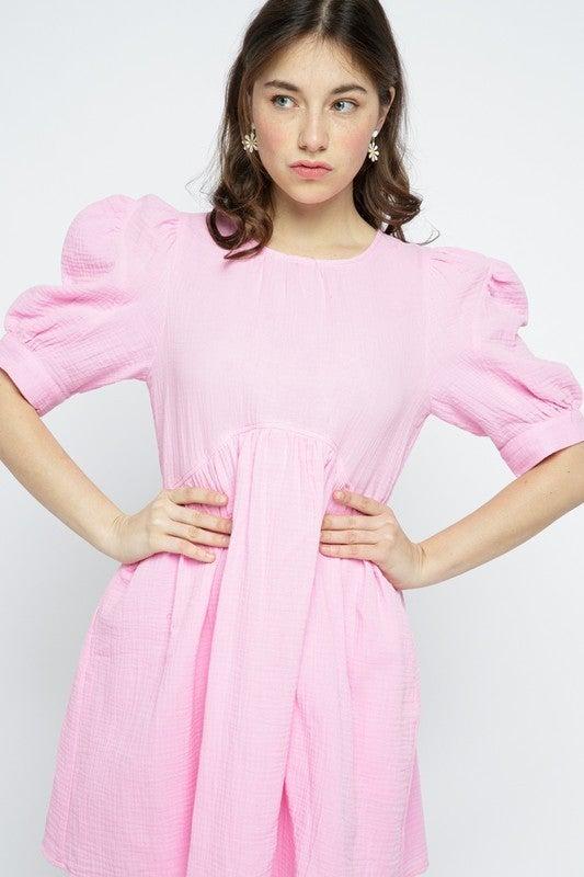 Be My BFF Baby Doll Dress