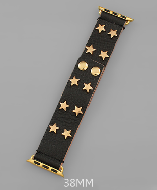 Star Struck SmartWatch Band - Black