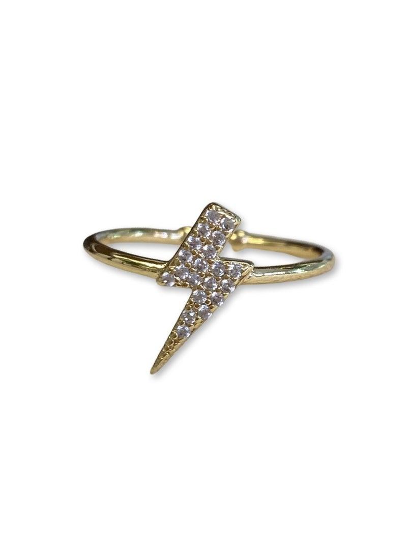 Jennifer Thames Lightning Bolt Ring