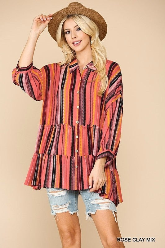 Working Woman Baby Doll Top