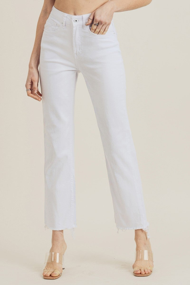 Cherish Today Jeans - White