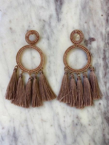 Shake Things Up Earrings - Rose Gold