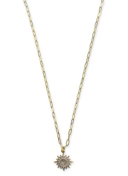 Jennifer Thames Small Sunburst Necklace