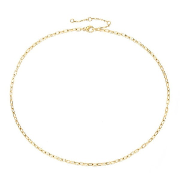 Leave Me Speechless Necklace - Gold