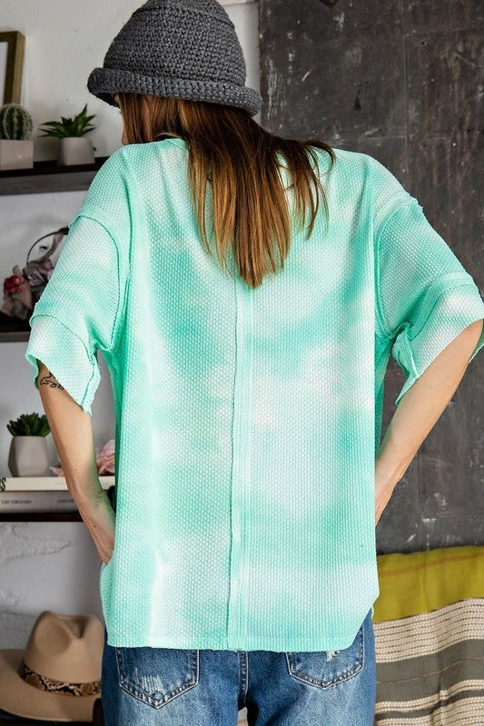 Chill With Me Top - Mint