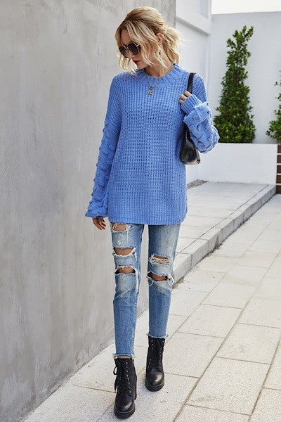 PLUS/REG Cover Girl Sweater