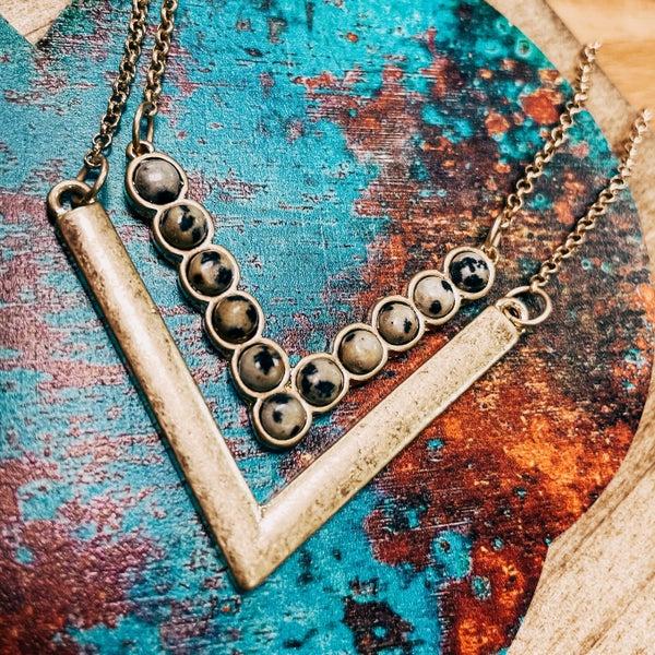 Two Piece Arrow Necklace