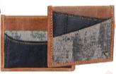 Henry Credit Card Holder Genuine Leather - Multiple Options