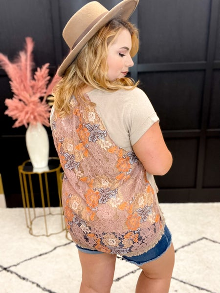Laced To The Nines Top Multiple Colors (S-2XL)