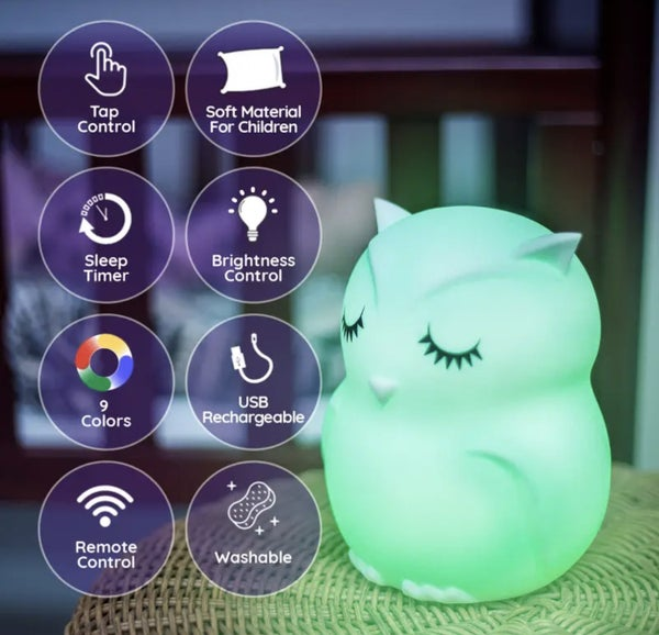 Lumipets LED Night Light With Remote Multiple Variations