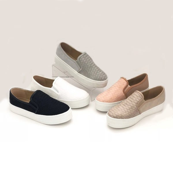 Ccocci  Casual Textured Slip-on  (6-10)