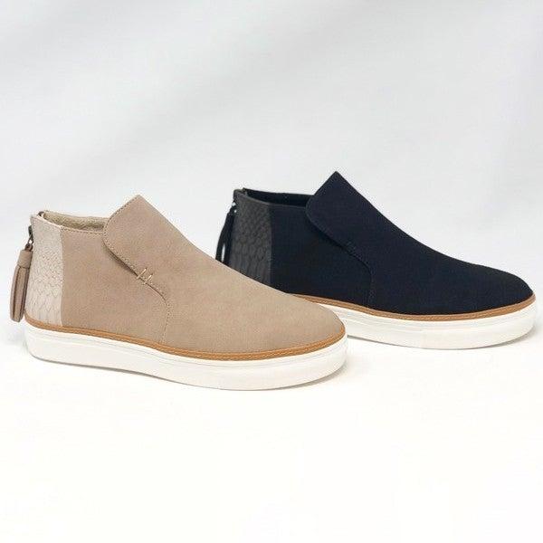 Ccocci Mid Top Zip Up Sneaker( 6-10)